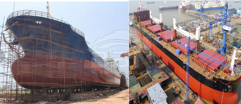 ABS-A ship building steel plate