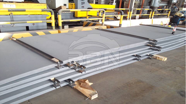 4262 tons ABS AH36 ship building steel plate to Damman Shipyard in Saudi Arabia
