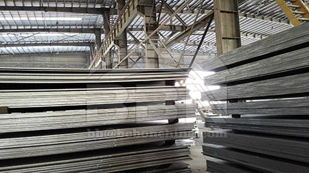 The shipyard should strictly control the quality of ASTM A131 AH36 steel plate before use