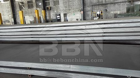 Price of ABS DH32 decking sheet steel plate in China market on December 18