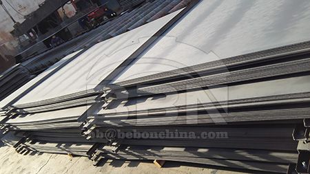 Hot rolled CCS EH32 low alloy steel plate stock resources