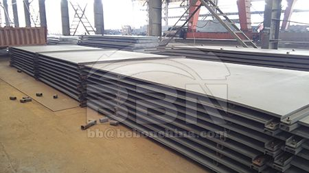 ASTM A131 ship building steel plate price per ton on February 1, 2020