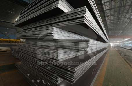 Where the CCS AH40 ship building steel plate is used
