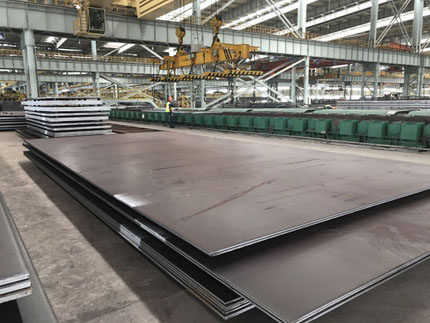 What is marine grade steel DH36