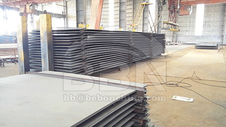 DNV GL DH32 hull structural steel plate for ship building