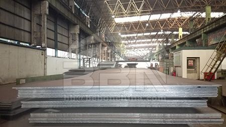 DNV GL EH32 hull steel plates technical data sheet