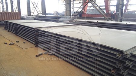 The offshore platform steel is developing towards high strength gradually