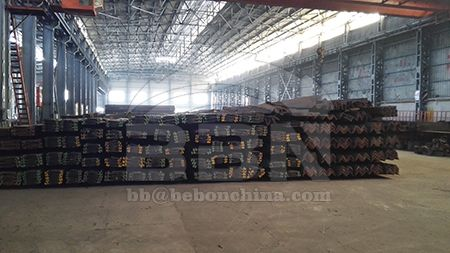 Bulb flat steel for shipbuilding